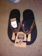 New Reef sandals in Fort Campbell, Kentucky