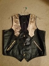 Leather vest in Lockport, Illinois
