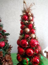 Homemade Table Top Christmas trees in Cherry Point, North Carolina