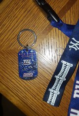 NFL NY Giants Key Chain in Fort Bliss, Texas