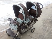 Double stroller in Fort Riley, Kansas