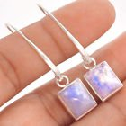 """New - Rainbow Moonstone 1 3/4"""" 925 Sterling Silver Earrings in Alamogordo, New Mexico"""