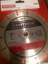 craftsman 7-in segmented rim diamond in Clarksville, Tennessee
