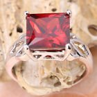 New - Red Garnet Silver Ring - Sizes 7 and 9 in Alamogordo, New Mexico