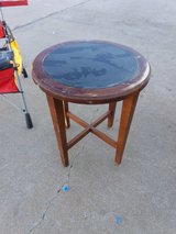 Small table in Fort Riley, Kansas