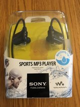 Sony sports MP3 player in Yorkville, Illinois