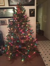 7FT Multi Color Christmas Tree in Camp Lejeune, North Carolina
