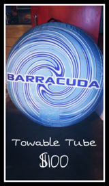 Barracuda Towable Tube - EXCELLENT Shape in Kingwood, Texas