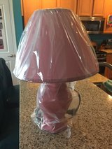 Reduced: Brand New! Pink Lamp in Naperville, Illinois