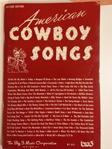 Am. Cowboy Songs Songbook in Glendale Heights, Illinois