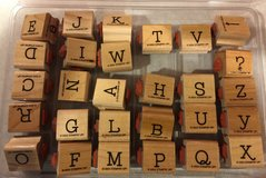 Stampin Up Simple Type Alphabet Upper & Lower Case Stamp Set in Chicago, Illinois