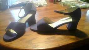 New (without tags) Purple Dress Sandals Size 8M in Chicago, Illinois