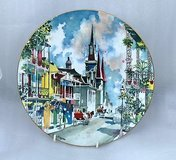 """Royal Doulton 1976 NEW ORLEANS French Quarter Plate Dong Kingman 10 1/4"""" in Houston, Texas"""