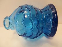 BEAUTIFUL! BLUE FISH SHAPED BOTTLE in Naperville, Illinois