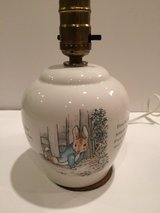 Wedgwood Beatrix potter Peter Rabbit Porcelain Table Lamp in Naperville, Illinois