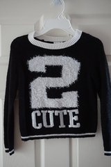 Girls Justice 2 Cute Cropped Sweater Size 7 in Plainfield, Illinois