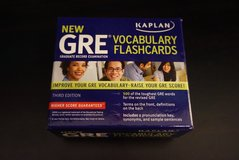 GRE flashcards in Chicago, Illinois
