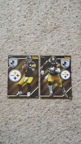 2 Pittsburgh Steelers FATHEADS - NEW in Camp Lejeune, North Carolina