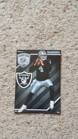 Oakland Raiders FATHEAD - NEW in Camp Lejeune, North Carolina
