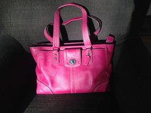 Coach Pink Leather Bag in Stuttgart, GE