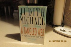 """""""A Tangled Web"""" By Judith Michael - Sequel To """"Deceptions"""" in Houston, Texas"""