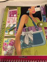 4 Style Me Up and Fashion Angels Stencil Books in Aurora, Illinois