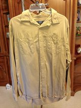 Tan, Long Sleeve shirt by Faded Glory - M 38/40 in Naperville, Illinois