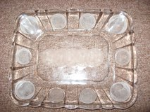 Reproduction Coin Glass bread plate in Naperville, Illinois