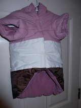 DOG JACKET   #5  mauve/white in Cherry Point, North Carolina
