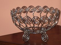 wire fruit basket 10Wx6H in Chicago, Illinois