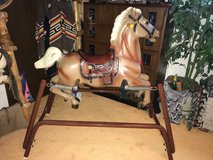 rocking horse in Tinley Park, Illinois