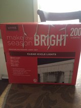 200 Icicle  lights (brand new) in Fort Campbell, Kentucky
