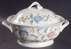 """Villeroy & Boch """"Delia"""". Complete set../First Love silverplate.  Great wedding gift in Lockport, Illinois"""