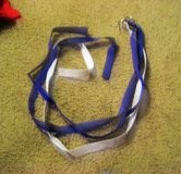 2 Purple 1 White Football Belts Adjustable Adult size in Kingwood, Texas
