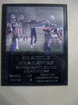 *** SEATTLE SEAHAWKS Super Bowl XLVIII Champs plaque - NEW *** in Fort Lewis, Washington