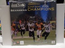 SEATTLE SEAHAWKS Super Bowl XLVIII Champions Calendar *** NEW *** in Fort Lewis, Washington