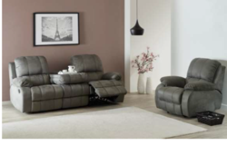 Dijon - NEW MODEL - Reclining Set Sofa + Chair -- includes delivery - Loveseat also available in Stuttgart, GE