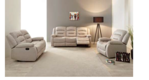 Chamant - NEW MODEL - Sofa-Loveseat-Chair - price includes delivery - Dark Grey in Stuttgart, GE