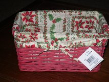 NWT fabric lined basket in Bolingbrook, Illinois