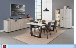 Celle - Dining Set - NEW MODEL -#2  China or Bar Unit with Table and 4 Chairs including delivery in Spangdahlem, Germany