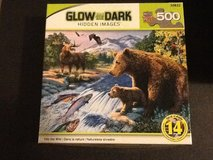 Glow in the dark puzzles in Yucca Valley, California