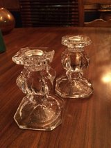 Gorham Lead Crystal Candlestick holders in Naperville, Illinois