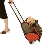 Snoozer 4-n-1 Wheel Around Travel Pet Carrier in St. Charles, Illinois