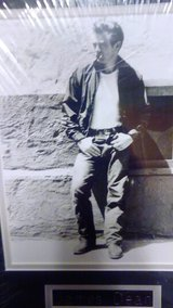 James Dean metal sign picture in Fort Campbell, Kentucky