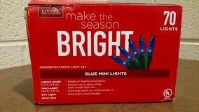 Living Solutions Light Set Blue ? 70 EA (T=25) in Fort Campbell, Kentucky