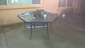 patio table with 6 chairs in Camp Pendleton, California