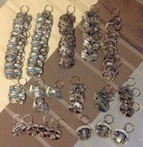 61 Brand New Profession Key Chains ~ GREAT RESELL LOT in Camp Lejeune, North Carolina