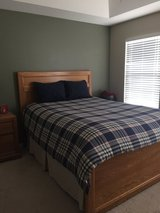 Pottery Barn Duvet and Bedskirt in Naperville, Illinois