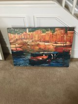 Canvas painting in Naperville, Illinois