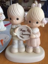 God Blessed Our Years Together With So Much Love And Happiness - Precious Moment Figurine in Camp Lejeune, North Carolina